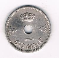 50 ORE 1928  NOORWEGEN  /4568/ - Norvège
