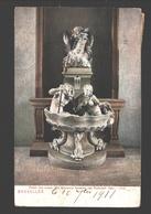 Brussel / Bruxelles - Palais Des Beaux Arts - Ancienne Fontaine (de Rijsbraek) - 1911 - Dos Simple - Musea