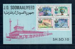 SOMALIA 1977 - AVIAZIONE - 30 ANNI ICAO   FGL - MNH ** - Somalia (1960-...)