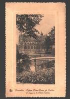 Brussel / Bruxelles - Eglise Notre-Dame Du Sablon - Gauffrée - Places, Squares