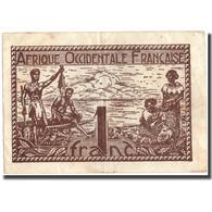 Billet, French West Africa, 1 Franc, 1944, 1944, KM:34b, TTB - West-Afrikaanse Staten