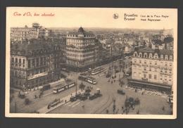 Brussel / Bruxelles - Coin De La Place Rogier - Côte D'Or, Bon Chocolat - Publicité - Places, Squares