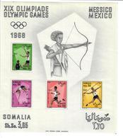 SOMALIA 1968 - OLIMPIADI MESSICO   FGL - MNH ** - Somalia (1960-...)