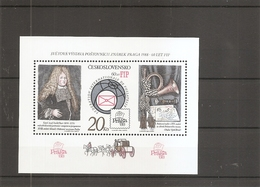 Tchécoslovaquie ( BF 67C XXX -MNH - Cat -Michel) - Blocks & Sheetlets