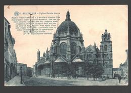 Brussel / Bruxelles - Eglise Sainte-Marie - 1930 - Places, Squares