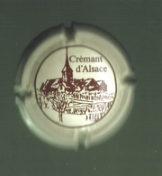 CAPSULE DE VIN MOUSSEUX ( Crémant D'Alsace) - Mousseux