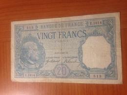 20 FRANCS BAYARD 13/4/1917 - 1871-1952 Anciens Francs Circulés Au XXème