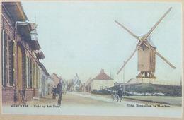 Merckem Zicht Op Het De Dorps (Molen - Moulin)(Reproduction - Photo) - Houthulst