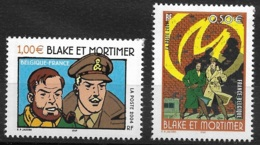 France-Bande Dessinée-Blake Et Mortimer-N°3669/3670-Neuf** - France