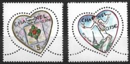 France-Saint Valentin-Coeurs 2004-N°3632/3633-Neuf** - France