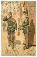 CPA - Carte Postale - Belgique - Armée Belge - Chasseurs à Pied - 1904 (B8823) - Personen
