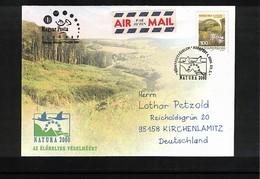 Hungary / Ungarn 2004 Natura 2000  Interesting Cover FDC - Umweltschutz Und Klima