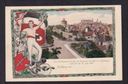 5 Pf. Privat Ganzsache Zum Turnfest Nürnberg 1903 - Ungebraucht - Gymnastique