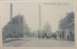 Marke La Gare Et Tuilerie – Marche-sur-Lys (Reproduction - Photo) - Kortrijk