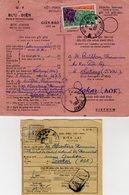 TB 2551 - INDOCHINE - VIETNAM - Avis Postal & Récépissé - MP NHATRANG 1960 Pour DAKAR ( Sénégal ) - Vietnam