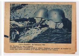 Romania WW2 Scrisoare De Campanie 1944 - Dubla Cenzura Militara! Sigilata! Opm 3805, RRR! - Cartas De La Segunda Guerra Mundial