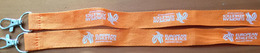 SANGLE.VIP Neck Hanging Strap ID For European Athletics  Kombank Arena In Belgrade, Serbia. 2017. Brand New. - Athlétisme