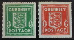 Guernsey Oc. Alemana 4/5 ** - Guernsey