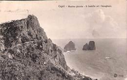 Capri - Marina Piccola - Il Castello Ed I Faraglioni (G Morgano) - Napoli (Naples)