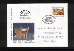 Hungary / Ungarn 2000 EXPO Hannover Interesting Cover FDC - 2000 – Hannover (Deutschland)