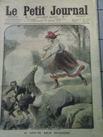 Le Petit Journal  Du Mars  1910 - Le Coup De Balai & Deux Fiancés Se Battent En Duel - Zeitungen