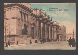 Brussel / Bruxelles - Musée De Peinture Et De Sculpture - Colorisée / Gekleurd - 1924 - Musea