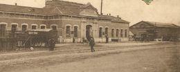 Quiévrain La Gare Avec Attelage - Quiévrain