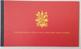 UK 2008 Regional Definitives. Heraldry And Symbol. Prestige Booklet - Francobolli