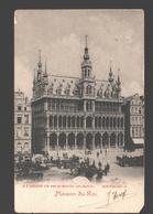 Brussel / Bruxelles - Maison Du Roi - Publicité A L'Aiglon - 1902 - Dos Simple - Musées