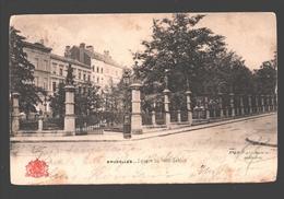 Brussel / Bruxelles - Square Du Petit Sablon - Dos Simple - Places, Squares