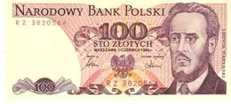 Poland P.143d 100 Zlotych 1986 Unc - Polonia