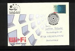 Hungary / Ungarn 2006 WI-FI Interesting Cover FDC - Informatik