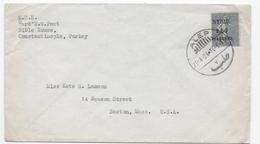 B5 Lettre N°113 Obl Alep Syrie (1924) - Siria (1919-1945)