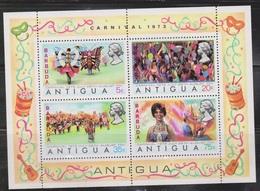 ANTIGUA Scott # 315a MNH Souvenir Sheet - Overprinted Barbuda - Antigua And Barbuda (1981-...)