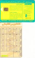 EGYPT(chip) - Coptic Calendar, Menatel Telecard, Chip GEM3.3, CN : 0083, Used - Egypt
