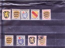 1945/1946 Wappen, Franz. Zone - Briefmarken