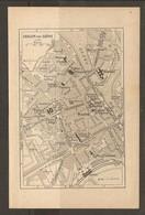 CARTE PLAN 1935 - CHALONS SUR SAONE VERRERIE TUILERIE POSTE ET TELEGRAPHE - Cartes Topographiques
