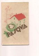 P4 ILLUSTRATORI BISI BUONA PASQUA FUTURISMO 1945 VIAGGIATA IN BUSTA - Illustrateurs & Photographes