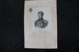DH / Louis Bonaparte, Né à Ajaccio Le 2 Septembre 1778 Et Mort à Livourne (Toscane) Le 25 Juillet 1846  / 16x24 Cm - Documents Historiques