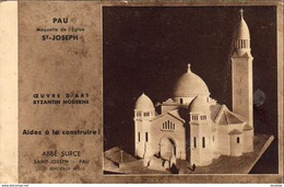 D64   PAU   Maquette De L'Eglise St-Joseph  ..... - Pau