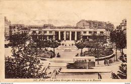 D64   PAU   La Place Georges Clemenceau Et Le Bassin  ..... - Pau