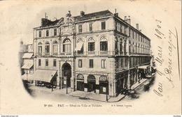 D64   PAU   Hôtel De Ville Et Théâtre  ..... - Pau