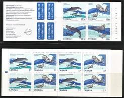 2010 Canada / Sweden Marine Life Joint Issue (** / MNH / UMM) - Gemeinschaftsausgaben