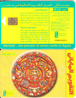 EGYPT(chip) - Mayan Calendar, Menatel Telecard, Chip GEM3.3, CN : 0086, Used - Egypt