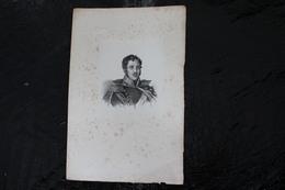 DH / Joseph Poniatowski Est Le Fils D'Andrzej Poniatowski (1734-1773), Prince Du Saint-Empire,  / 16x24 Cm - Documents Historiques