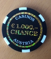 Casino Austria  Token 1000 EUR Chance - Casino