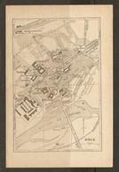 CARTE PLAN 1935 - DOLE CASERNE BERNARD BANQUE DE FRANCE COUVENT CARMELITES - Topographical Maps
