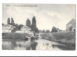 Blaton  ( M 2848 )  Bateau Sous Le Pont ( Embouchure Du Canal Blaton à Ath ) ( Top ) - Bernissart