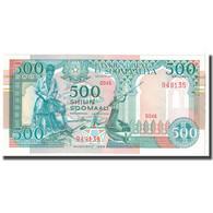 Billet, Somalie, 500 Shilin = 500 Shillings, 1989, KM:36a, NEUF - Somalie