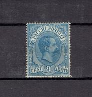 ITALIE - COLIS POSTAUX - N°2 - 1884 - 1878-00 Humbert I.